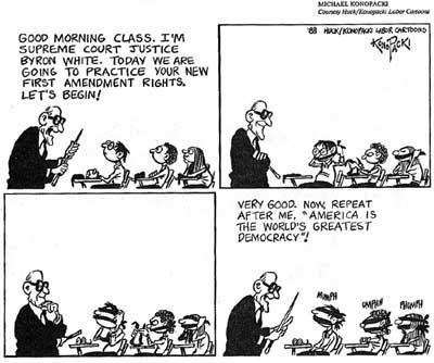 Cartoon Court Scene Supreme Court Cartoon