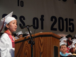 HPHS Class of 2015 Salutatorian Aiti Rai Has a Dream